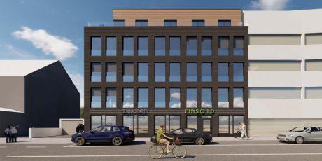 Renovierung eines Bürogebäudes
