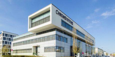 Büro und Laborgebäude Chromsystems